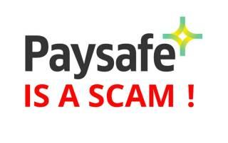 paysafe scam